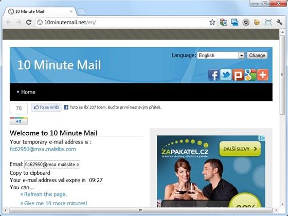 Dočasné anonymní e-maily jsou výborným nástrojem pro ochranu vaší soukromé