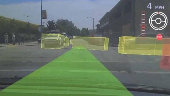 Automaticky řízený automobil musí umět ropoznávat statické i pohybující se