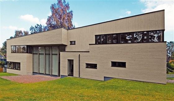 Dřevěná vila Ronnevik stojí na předměstí Stockholmu, přesto v ní žije Češka.