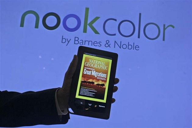 Barnes & Noble - Ravi Krishnan p�edvádí noviná��m nový Nook color