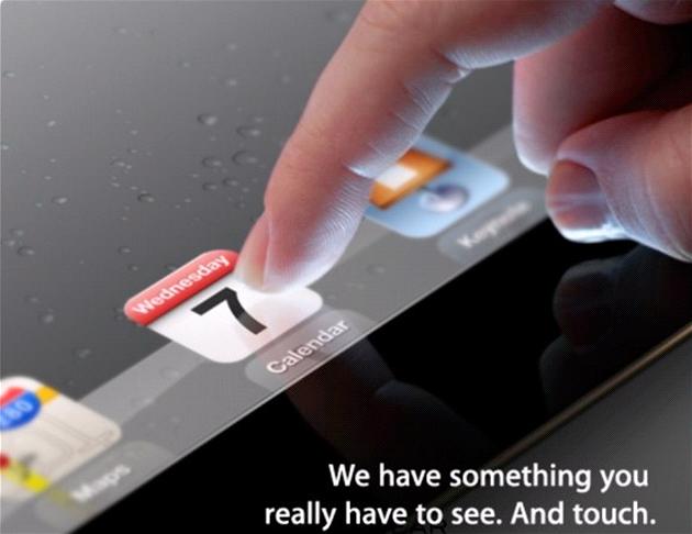 """Pozvánka na p�edstavení """"n��eho nového"""" od firmy Apple"""