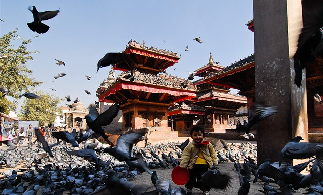 Durbar Square v K&#225;thm&#225;nd&#250;