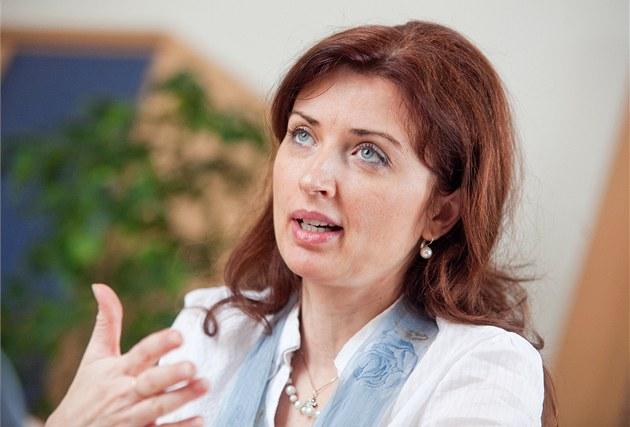 Zmocn�nkyn� vlády pro lidská práva Monika �im�nková (20. února, Praha)