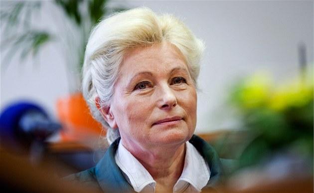 Europoslankyně Zuzana Roithová (KDU-ČSL) při tiskové konferenci ke kandidatuře...