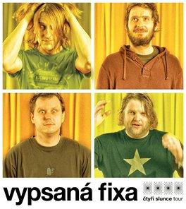 Kapela Vypsaná fixa natočila pro film Čtyři slunce pět písní včetně ústřední