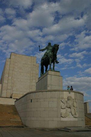 Celkový pohled na Památník Vítkov.