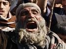 Protesty proti sp�len� kor�nu americk�mi jednotkami v Afgh�nist�nu (23. �nora