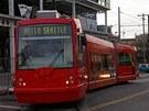 Tramvaje ostravské společnosti Inekon v ulicích amerického Seattlu.