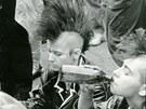 Z koncertu na podporu pražských rockových klubů, Staroměstské náměstí 1990