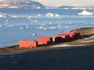 Po vylo�en� poslou�ily kontejnery na p�esp�n� stavba��. I kdy� bylo -10 �C...