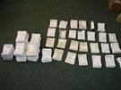 Policisté zajistili asi sedm a půl tisíce padělaných receptů, díky kterým