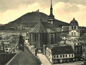 Starý Most v době před 2. světovou válkou.