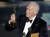 Je to tak, Christopher Plummer získal Oscara za nejlepší mužský herecký výkon