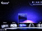 Xtreamer menu