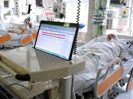 JIP anesteziologicko-resuscita�n� kliniky vinohradsk� nemocnice.