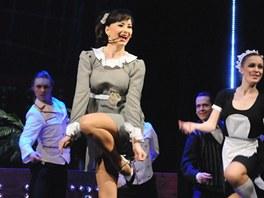 Daniela Šinkorová (Christine Colgate) a soubor muzikálu a operety, balet DJKT.