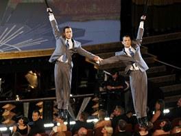 Ještě jedna momentka z Cirque du Soleil