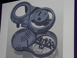 Návrh nové prodlužovačky se samozřejmě vytvářel v programu SolidWorks (proto