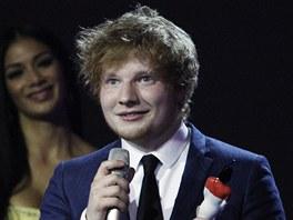 Brit Awards 2012: Ed Sheeran