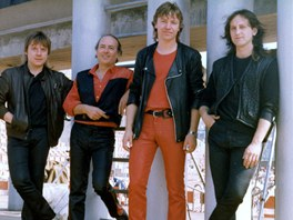 Olympic v roce 1988 (zleva Jiří Valenta, Petr Janda, Milan Broum, Milan