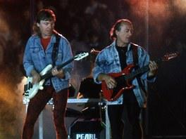 Olympic v roce 1988 (zleva Jiří Valenta, Milan Broum, Petr Janda)