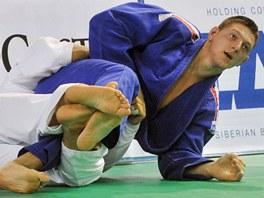 Lukáš Krpálek ovládl Světový pohár judistů v Praze. Ve své kategorii do 100 kg