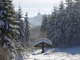 Lysá hora z Ivančeny