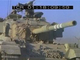 Tanky Sho´t Kal byly verzí britských Centurionů se 105 mm kanonem