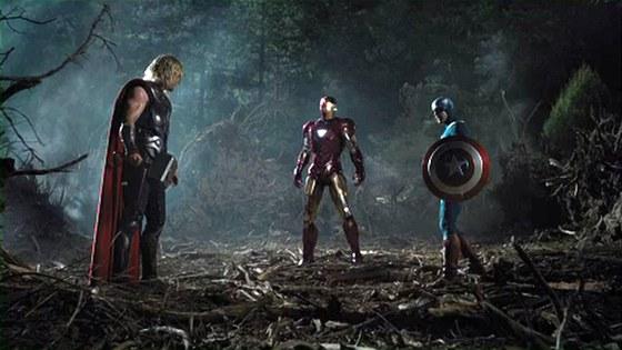 Avengers si vyjasňují pozice.