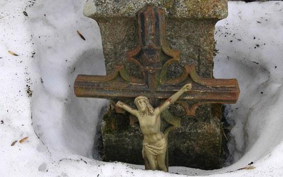 Zákoutí u hřbitova u Kostela sv. Tomáše