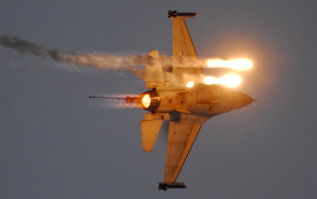 Letoun F-16 nizozemského letectva