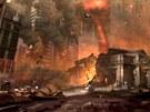 Následující obrázky údajně pocházejí z vývoje akce Doom 4