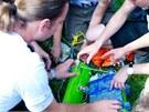 Čeští amatérští vědci vypustili v září 2011 do stratosféry svou první sondu v
