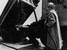 Dekontaminace po evakuaci Černobylu 5. května 1986