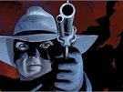 Lone ranger v komiksové podobě.
