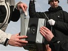 Vypouštění vesmírné sondy v Číhošti na Havlíčkobrodsku