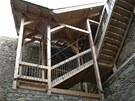 Opravy na Vítkově Hrádku