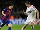 HV�ZDA VS. �ESK� BEK. Nejlep�� fotbalista sv�ta Lionel Messi z Barcelony se