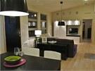 Veškeré prostory domu jsou vybavené pouze nábytkem IKEA.