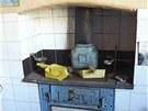 Pohled do p�vodn� kuchyn�
