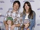 Jamie Oliver s rodinou (�nor 2011)