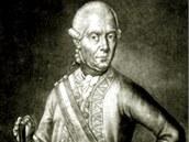 Rakouský vojevůdce Gideon Laudon.