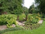 Snění o pohodové zahradě je projevem touhy zbavit se návratem k přírodě stresu,
