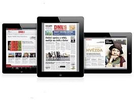 Čtěte MF DNES pro iPhone a iPad
