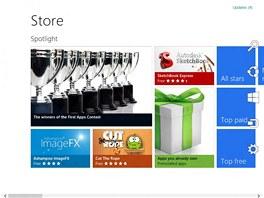 Windows 8 Consumer Preview poprvé ukázal veřejnosti obchod s aplikacemi.