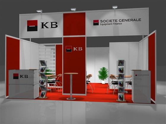 Navštivte společný stánek Société Générale Equipment Finance a Komerční banky