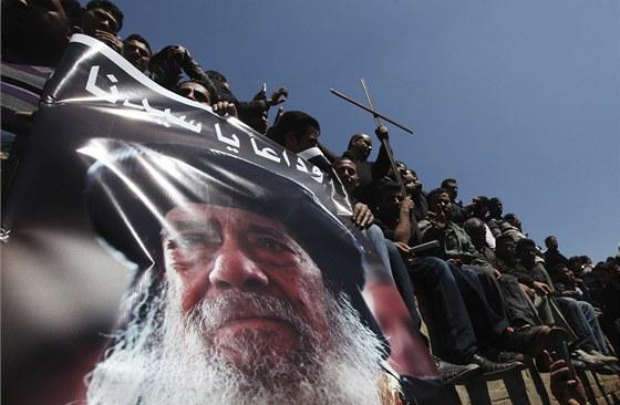 Patriarcha koptsk� ortodoxn� k�es�ansk� c�rkve v Egypt� �enuda III. zem�el ve...