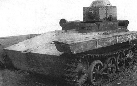 Sovětský T-33, podoba sbritskou předlohou byla více než náhodná, ale nešlo o