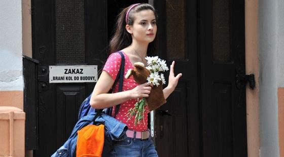 Eva Josefíková ve filmu Probudím se včera.