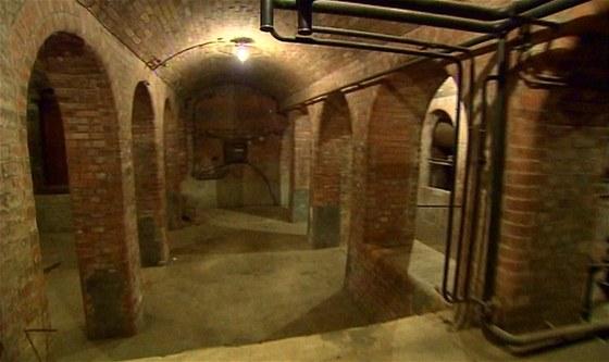 Podzemí udivuje svou architektonickou krásou i filmaře.
